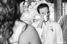 Quem disse q noivo não chora?