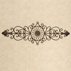 Wrought iron wall hanging ornate wall decor fleur de lis patio aria antique bronze wrought iron indoor outdoor wall grille ppazfo