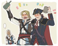 Best Assassin's Creed, All Assassin's Creed, Assassins Creed Funny, Assassins Creed Series, Fandoms, Western Anime, Cry Of Fear, Edwards Kenway, Templer