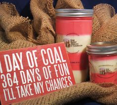 Soap Bucket Skincare and Candles Holiday Gift Ideas: Candy Cane Candles spread Christmas season's fun. $11.00 and $18.50 #christmasgiftideas #holidaypresents #stockingstuffers #teachergiftideas