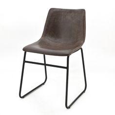 Bekijk de trendy en stoere stoel Logan van By Boo in de woonwinkel van Mokana Meubelen in Enschede. Grote collectie stoelen en banken.