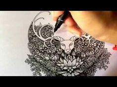 My first video drawing - Visothkakvei - YouTube