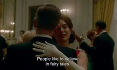 """¥She so needed to hear those """"indescribable"""" words. Jackie Kennedy, Jackie 2016, Fresh Movie, Movie Subtitles, Inspirational Movies, Movie Shots, Romantic Mood, Movie Lines, Flims"""
