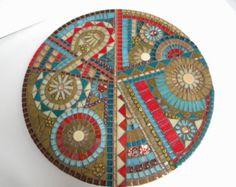 Mosaic Lazy Susan - Original Art