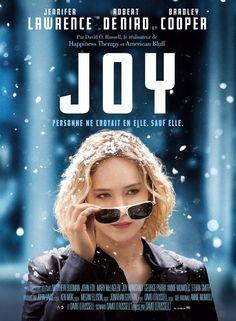 Joy est un film américain, réalisé en 2015, par David O. Russell, de genre Biopic, avec Jennifer Lawrence, Bradley Cooper,