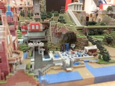 Another tiny village printed directly from minecraft by Dave Russell Amazing Minecraft, Minecraft Art, Minecraft Buildings, Impression 3d, Real Life, 3d Printing, The Incredibles, Mansions, House Styles