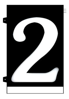 Homidea Backlit LED House Number 2 Led House Numbers, Overhead Lighting, Family Outing, House Entrance, Day For Night, Number 2, Home Projects, Diy Home Decor, Home Improvement