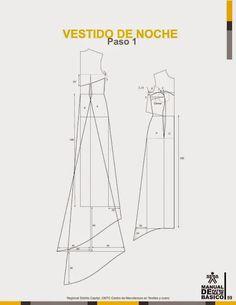 modelist kitapları: Manual-de-Patronaje-Basico-e-Interpretacion-de-Disenos Wedding Dress Patterns, Dress Sewing Patterns, Clothing Patterns, Sewing Doll Clothes, Sewing Dolls, Pattern Cutting, Pattern Making, Modelista, Pattern Drafting
