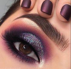 Makeup Artist Cardi B off Rihanna Makeup Collection Mac during Makeup Revolution Concealer Shades purplemakeuplooks Prom Eye Makeup, Day Makeup, Smokey Eye Makeup, Makeup Goals, Makeup Inspo, Beauty Makeup, Makeup Trends, Rihanna Makeup, Runway Makeup
