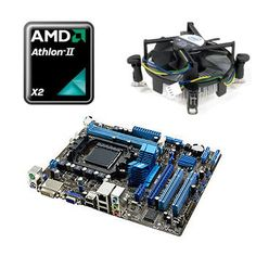 Placa de baza Asus M5A78L-M LE, AMD Athlon II X2 250, Cooler