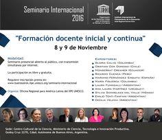 Teresa Clotilde Ojeda Sánchez: Ponencias del Seminario Internacional 2016- UNESCO...