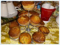 I miei Muffins ai frutti rossi