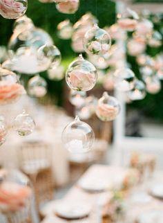Floral infused ornaments: http://www.stylemepretty.com/destination-weddings/france-weddings/2016/10/17/green-salmon-glamorous-destination-provence-wedding/ Photography: Greg Finck - http://www.gregfinck.com/