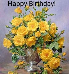 Happy Morning, Good Morning Quotes, Happy Day, Morning Msg, Morning Greeting, House Painting, Yellow Flowers, Flower Decorations, Good Night