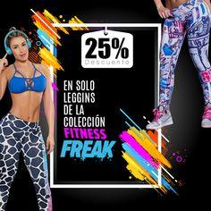 Porque tú lo pediste seguimos con nuestra semana de descuentos en solo leggins de la colección FITNESS FREAK!!! Aprovecha el 25% de descuento y arma tu #OUTFIT como quieras…👌😍❤️🏋️♀️🛒 Para compras Online da clic aquí https://ola-laropadeportiva.com/42-leggins-coleccion-fitnes… Whatsapp (57) 3188278826.  #descuento #ofertas #ejercicio #gym #fit #leggins #fuerza #fitnessaddict