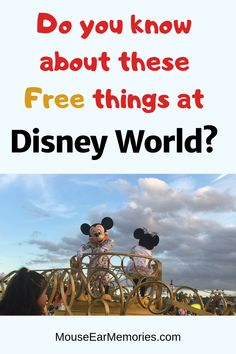 Disney is expensive- so learn about the free stuff they offer! This list tells you all about the free stuff you can do and get at Disney World. Fastpass Disney World, Walt Disney World Vacations, Disneyland Trip, Disney Trips, Family Vacations, Disney Money, Disney On A Budget, Disney Cars, Disney Secrets