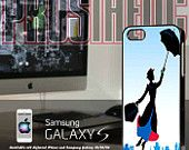 Mary Poppins- Custom iPhone 4 case, iPhone 5 case, Samsung galaxy case, Samsung Galaxy s3 , Samsung Galaxy s4 case