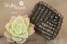 Bracelet paraty détail. Sibylle Flouret Bijoux