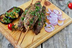 Grilled lamb skewers with deep roots in the Middle East.
