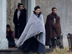 Lana Parrilla, Evil Queen, Prince Phillip, Aurora and Belle...11-26-13