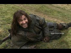 Aidan Turner/Kili Clips from The Hobbit DOS Extended Edition - YouTube << So cute/funny! :D
