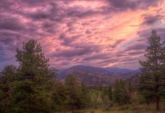 Alpenglow at YMCA of the Rockies in Estes Park, Colorado - Rocky Mountain National Park by Carl's Photography, via Flickr