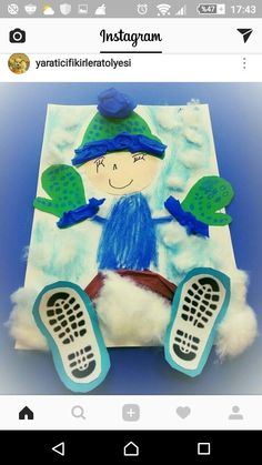 Winter Crafts For Kids Winter Activities For Kids, Winter Crafts For Kids, Winter Kids, Kids Crafts, Art For Kids, Winter Art Projects, Winter Project, Projects For Kids, January Art