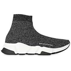 Balenciaga Women's Speed Knit Sneakers by Balenciaga Balenciaga Basket, Balenciaga Shoes, Knit Shoes, Knit Sneakers, Shoes Sneakers, Black Sneakers, Me Too Shoes, Roshe, Tennis