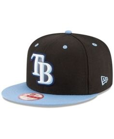 New Era Tampa Bay Rays Beveled Rubber Logo 9FIFTY Snapback Cap Men - Sports  Fan Shop By Lids - Macy s 7466bb4e216
