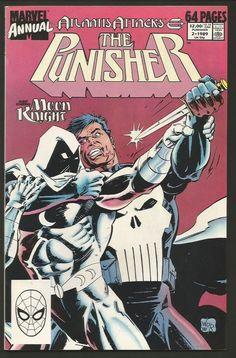 The PUNISHER ANNUAL #1 NM range High Grade Marvel Comics 1989