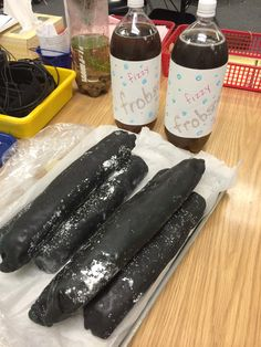Check out how to make Frobscottle and Snozzcumbers based on Roald Dahl's book, The BFG (Big Friendly Giant) - visit my blog http://homemadewithheart.blogspot.com/2014/06/recording-my-recipe.html