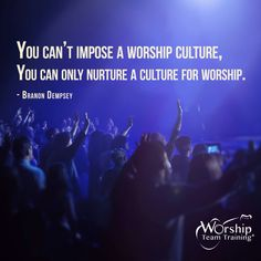 Join Worship Team Training for daily posts to encourage and provide practical insights for you and your team!  #Facebook http://buff.ly/1eMS0en #Twitter: https://twitter.com/WorshipTT #Instagram http://buff.ly/1gbBR1G #Google+ http://buff.ly/1fk0vcJ  WTT eNews Subscribe: http://buff.ly/1g7JIwb Get the practical Music Book http://www.worshipteamtraining.com/store  Inspire Your #WorshipTeam with a Workshop http://www.worshipteamtraining.com/Registration