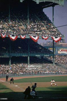 1963 World Series at Yankee Stadium.