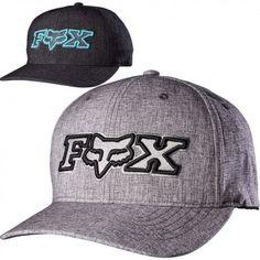 3117d7d99cb Fox Racing Kincayde Mens Caps Motocross Off Road Flexfit Hats Fox Head