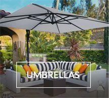Patio umbrellas at Rich's Shade Umbrellas, Patio Umbrellas, Backyard Furniture, Furniture Decor, Outdoor Furniture, Marble Falls, Outdoor Living, Outdoor Decor, Back Patio