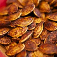 Roasted Cinnamon Spice Pumpkin Seeds Recipe