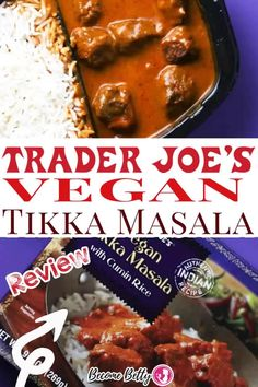 "I'm not vegan and for the most part I'm very doubtful when it comes to trying anything labeled as such. I have the image of bunny food and tofu and the knowledge that I will walk away less than satisfied. But I was wrong with Trader Joe's Vegan Tikka Masala. This dish took me by surprise. The ""meat"" fooled me. If you had put this dish in front of me and not told me it was vegan I would have been none the wiser. The meat tasted like a perfectly shaped meatball. 