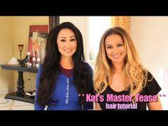 Viva Glam Celebrity Stylist: Master Tease Hair Tutorial/ How to Achieve Big Sexy Hair Look