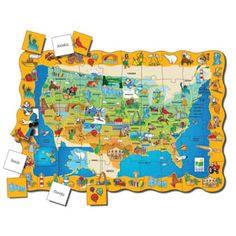 Find USA Puzzle by The learning journey | eBeanstalk