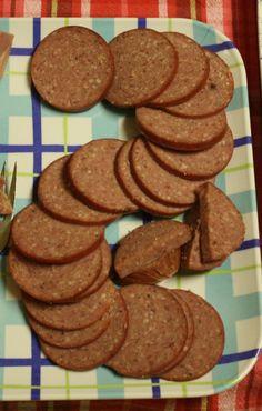 Homemade Summer Sausage - http://stlcooks.com/2014/06/homemade-summer-sausage/