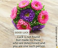Want to wish someone good luck but can't find the right words? Look here and find plenty of awesome messages.