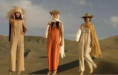 Модели на показе моды Пьера Кардена в пустыне в северо-западной провинции КНР. 2007 год Bridesmaid Dresses, Wedding Dresses, Pierre Cardin, Fashion, Bridesmade Dresses, Bride Dresses, Moda, Bridal Gowns, Fashion Styles
