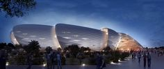 Grand Stade in Casablanca by Kohn Pedersen Fox Associates