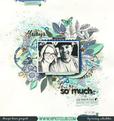 Love You So Much *Hip Kit Club* - Crate Paper Maggie Holmes Willow Lane; Amy Tangerine Shine On Scrapbook Cover, Scrapbook Storage, Recipe Scrapbook, Scrapbook Sketches, Scrapbook Page Layouts, Scrapbook Pages, Scrapbooking Ideas, Hip Kit Club, Create A Family