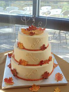 fall wedding cakes | Fall Wedding Cake