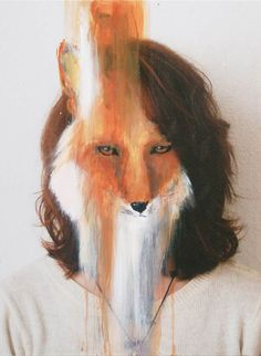 Bestialisation – Peintures animales de Charlotte Caron #charlottecaron #animals #paintings