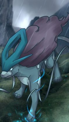 (Day 483) Day 138 ROUND TWO - Suicune by AutobotTesla on DeviantArt