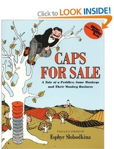 Caps for Sale (Reading Rainbow Books): Amazon.co.uk: Esphyr Slobodkina: Books