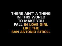 Tanya Tucker-San Antonio Stroll (Karaoke)
