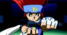 Gingka Hagane, the main character in the Beyblade Metal saga. Gingka is passionate and caring. If he sees someone in trouble, he has to help them out. After the loss of his parents, Gingka set out to become the world's greatest Blader, and along the way meeting amazing rivals and friends. Not my favorite character, but Gingka is still cool.